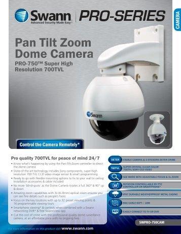 Pan Tilt Zoom Dome Camera - Electravision (UK)