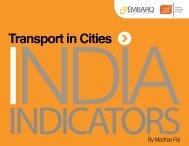 Transport in Cities - Clean Air Initiative