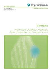 Der Hallux - Schulthess Klinik