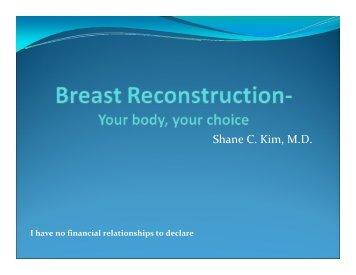 Shane C. Kim, M.D. - Komenoregon.org