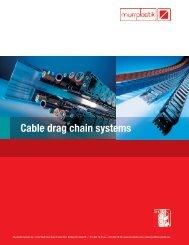 Cable drag chain systems - Hareketli Kablo Kanalı