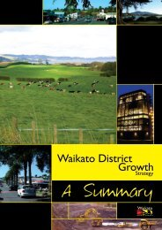 A Summary - Waikato District Council