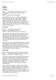 Boston Lyric Opera - Thais Synopsis - Fulmini e Saette