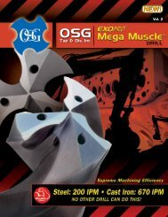 OSG Tap & Die - Mega Muscle Carbide Drills