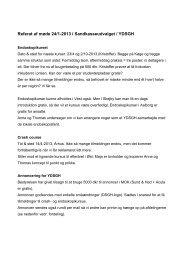 Referat af møde 24/1-2013 i Sandkasseudvalget / YDSGH - fra DSGH