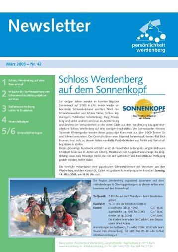 März 2009 - Region Werdenberg