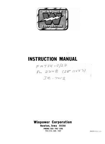 wiring diagram spreadsheets click here winco generators fm7v4 c 2d operators manual wiring diagram winco generators