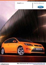 Catálogo Ford Focus - enCooche.com