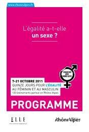 Consultez le programme - Rhône-Alpes Solidaires