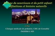 Définition et histoire naturelle de la maladie