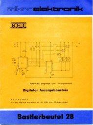 Digitaler Anzeigebuuslein - Blunk electronic
