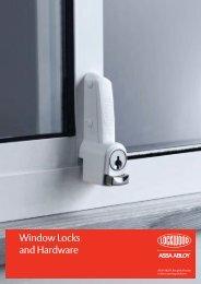 Window Locks and Hardware - DeMar Timber & Hardware