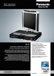 cf-19 das robuste  convertible toughbook mit dual ... - PH Networks AG