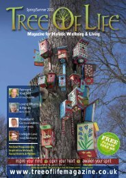 Magazine for Holistic Wellbeing & Living - Tree of Life