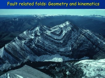 Fault related folds: Geometry and kinematics