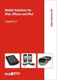 Download (PDF) Technical Specifications - Maxess