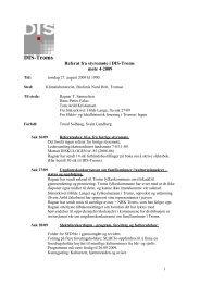 Referat fra styremøte i DIS Troms torsdag 19 - DIS-Norge