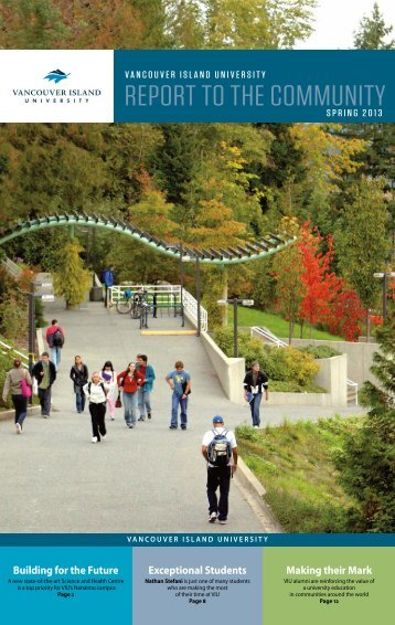 VIU Report to the Community - Vancouver Island University
