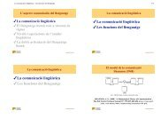 La comunicació lingüística - Les funcions del llenguatge