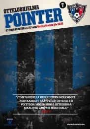 Pointer 7/09 - FC Inter