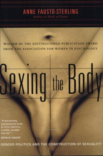 Fausto-Sterling - Sexing the Body