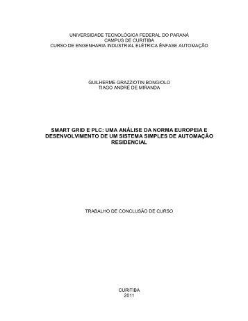 smart grid e plc: uma análise da norma europeia ... - NUPET - UTFPR