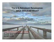 The US Petroleum Renaissance - Resource Development Council