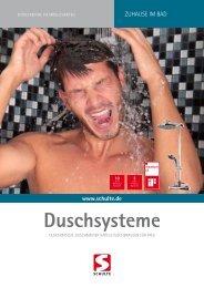 Duschsysteme - Schulte