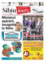 Ministrul apărării, incognito la Sibiu - Sibiu 100