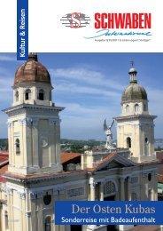 Der Osten Kubas - Schwaben International