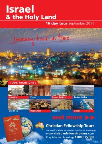 Israel - Mission Travel