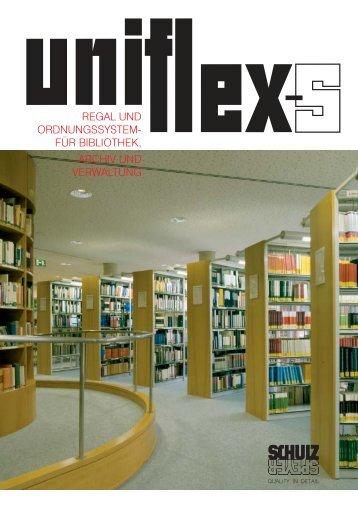 regal und ordnungssystem- für bibliothek, archiv ... - Schulz Speyer