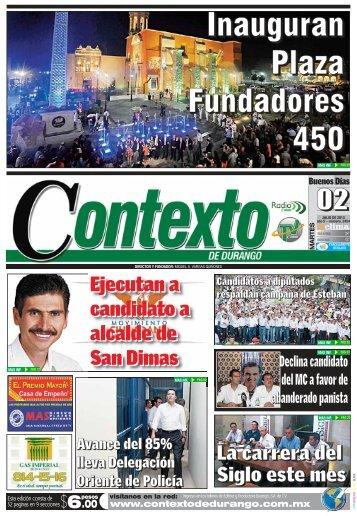 02/07/2013 - Contexto de Durango