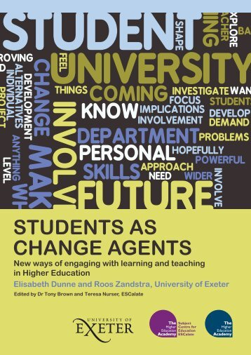 8242 Students As Change Agents - University of Cumbria