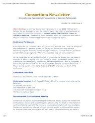 View Issue 8: October 31, 2008 (PDF) - CornellCARES.com