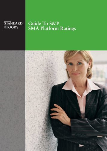 Guide To S&P SMA Platform Ratings