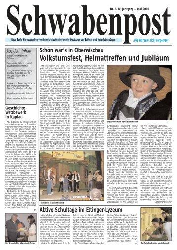 FRANKREICH - Demokratisches Forum der Deutschen