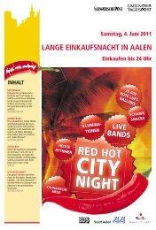 am 3. und 4. Juni 2011 Lange Einkaufsnacht - Schwäbische Post