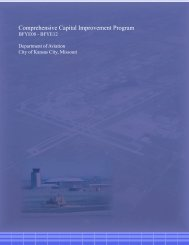 Capital Improvement Plan - Kansas City International Airport