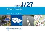 Silnice I/27 Kralovice - obchvat - Ředitelství silnic a dálnic