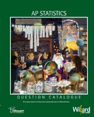 AP Statistics - Eduware