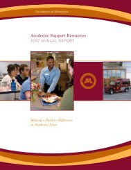 Academic Support Resources - One Stop Home - University of ...