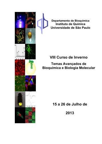 II Curso de Inverno - Instituto de Química - USP
