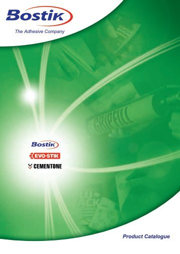 Bostik Product Catalogue - Acorn Bearings