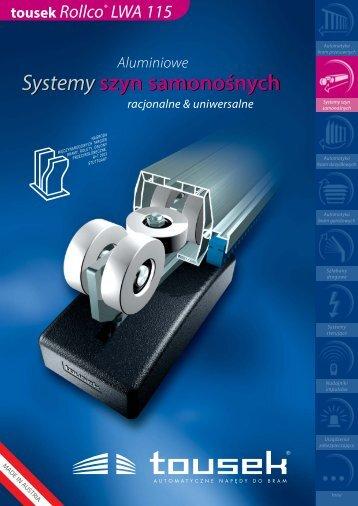 Systemy szyn samonośnych - tousek GmbH