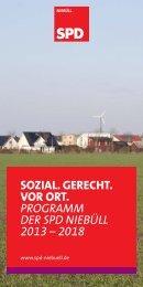 Wahlprogramm der SPD Niebüll