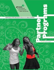 2011-2012 Partner Programs - Girl Scouts of Minnesota and ...