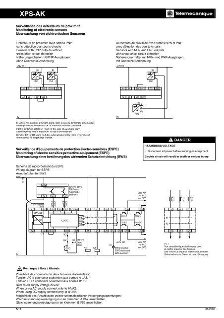 XPS- Xps Ac Telemecanique Wiring Diagram on