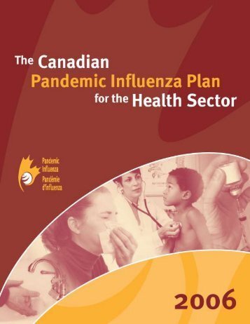 The Canadian Pandemic Influenza Plan for the Health Sector
