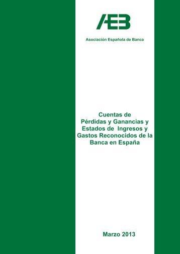 Cuentas de Pérdidas y Ganancias - Asociación Española de Banca
